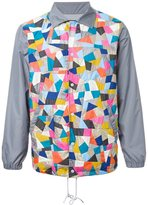 Anrealage 'Patchwork Coach' jacket - men - nylon -12/polyester - 48