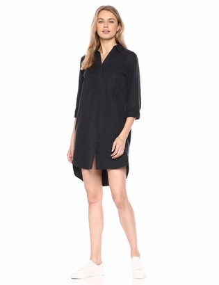 The Drop Women's Erica Long-Sleeve Shirt Dress