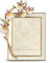 "Jay Strongwater Orchid 3"" x 4"" Frame"
