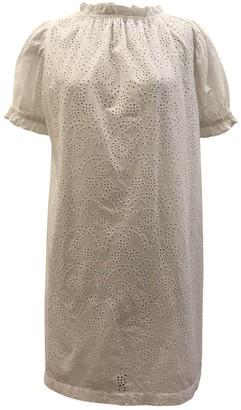 soeur White Cotton Dresses