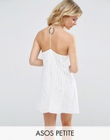 Asos Broderie Sundress with Strappy Back