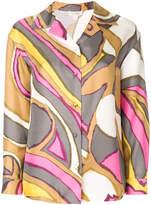 Marc Jacobs buttoned print blouse