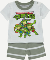 George Teenage Mutant Ninja Turtles T-shirt and Shorts Set