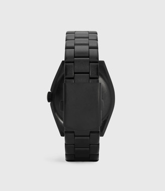 AllSaints Subtitled GMT V Matte Black Stainless steel Watch