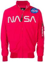 Alpha Industries Nasa Flight bomber jacket