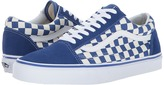 Vans Old Skooltm True Blue/White) Skate Shoes