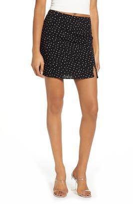 Leith Slit Detail Miniskirt