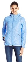 Free Country Women's Poly Cire Quilted Jacket with Polyfill