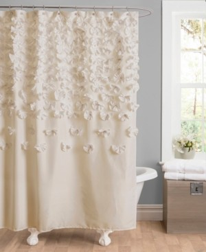 "Lush Decor Lucia 72""x 72"" Shower Curtain Bedding"