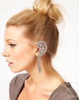 ASOS Rhinestone Ear Cuff with Swarovski Stones