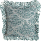 Dian Austin Couture Home Burnout Velvet European Sham with Ruching
