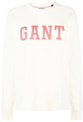 Gant Logo Sweatshirt Ladies