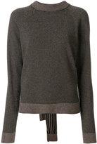 Isa Arfen striped sweater