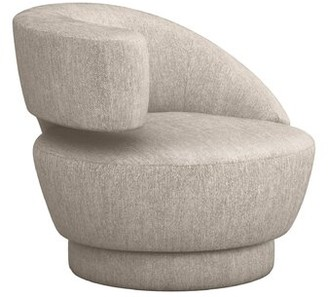 Interlude Arabella Left Swivel Lounge Chair Upholstery Color: Bungalow