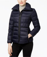 MICHAEL Michael Kors Packable Stand-Collar Down Puffer Jacket