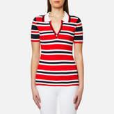 Tommy Hilfiger Women's Erin Stripe Polo Shirt