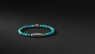 David Yurman Southwest Bead Bracelet In Turquoise