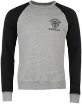 Franklin And Marshall 2 Tone Crew Sweater