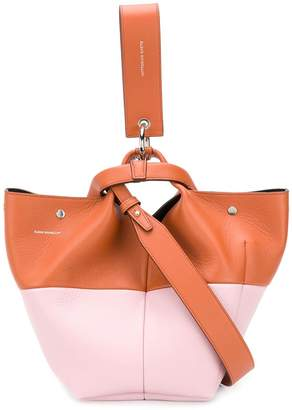 Elena Ghisellini Vanity bi-colour shoulder bag