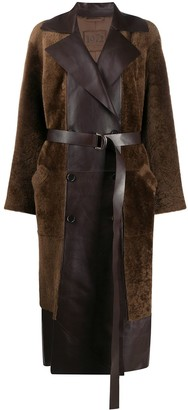 Desa 1972 Panelled Belted Trench Coat