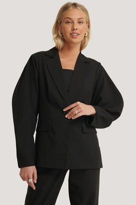 NA-KD Rounded Shoulder Blazer