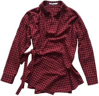 Alexander Wang Red Wool Top for Women