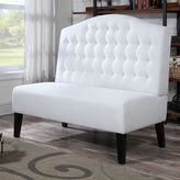 Prime resources intl. Banquette Button Tufted Loveseat