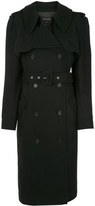 Karen Walker Magmatic belted trench coat