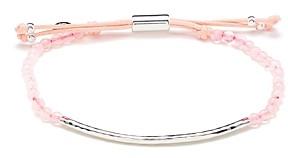 Gorjana Silver-Tone Stone Beaded Bracelet