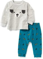 Old Navy Puppy Tee & Printed Pants Set for Baby