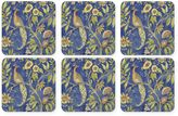 Pimpernel Peacock Tapestry Coasters (Set of 6)