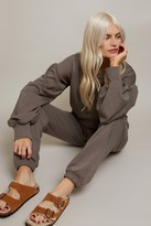 Thumbnail for your product : Little Mistress Grey Jogger Loungewear Co-ord