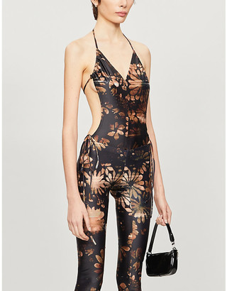 Charlotte Knowles Perse abstract-print swimsuit