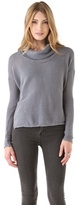 James Perse Mesh Boxy Top