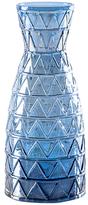Torre & Tagus Tall Geo Lustre Carafe Vase