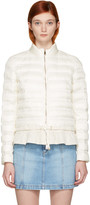 Moncler Ivory Down Anemone Jacket