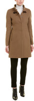 Cinzia Rocca Icons Stand-Up Wool-Blend Coat