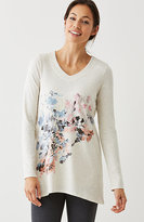 J. Jill Pure Jill Painted-Floral Tunic