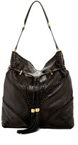 Brian Atwood Lucas Leather Hobo Bag