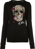Philipp Plein skull print hoodie - women - Cotton - S