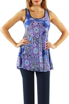24/7 Comfort Apparel Tank Tunic Top