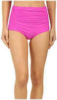 Athena Cabana Solids High Waist Bottom