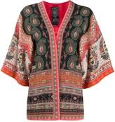 Etro paisley-print kimono