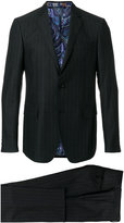 Etro pinstripe two-piece formal suit