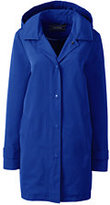 Lands' End Women's Petite Coastal Rain Parka-Rich Sapphire