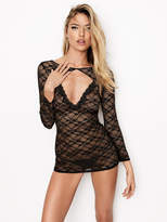 Very Sexy Lace Long-sleeve Slip