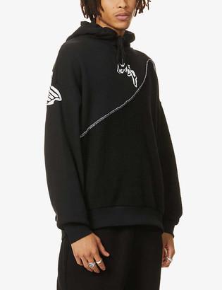 Boy London Graphic-print cotton-jersey hoody