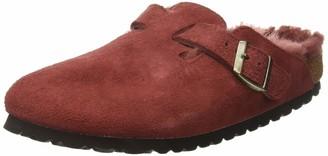 Birkenstock BOSTON Suede leather / Sheepskin Women's Clogs