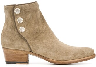 Alberto Fasciani Pointed Ankle Boots