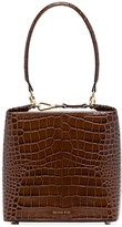 REJINA PYO Lucie crocodile-effect box bag